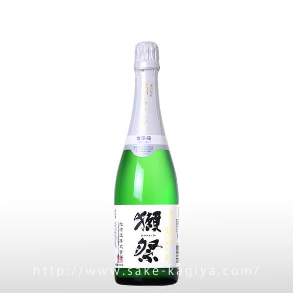 獺祭 純米大吟醸 磨き三割九分 発泡にごり酒 720ml