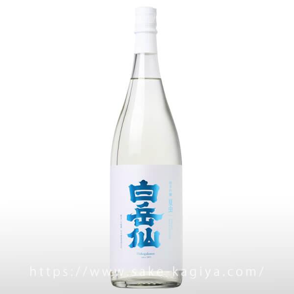 白岳仙 純米吟醸 夏虫 NATSUMUSHI 生原酒 1.8L