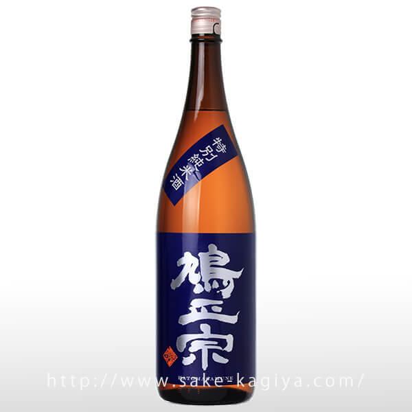 鳩正宗 特別純米酒 華吹雪55 1.8L