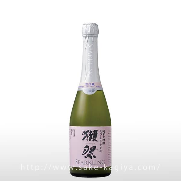 獺祭 純米大吟醸 スパークリング45 720ml
