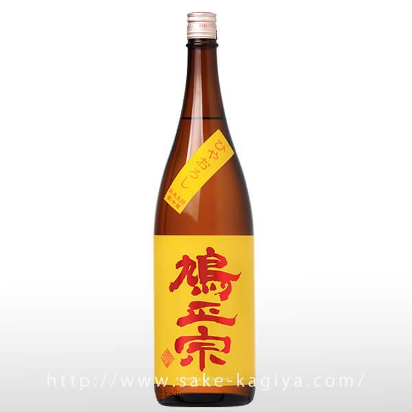 鳩正宗 純米酒 ひやおろし 1.8L