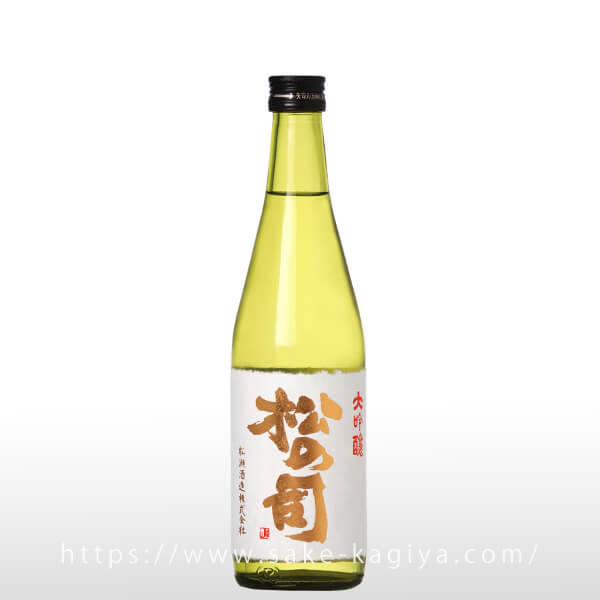 松の司 出品大吟醸酒 斗瓶囲い 500ml