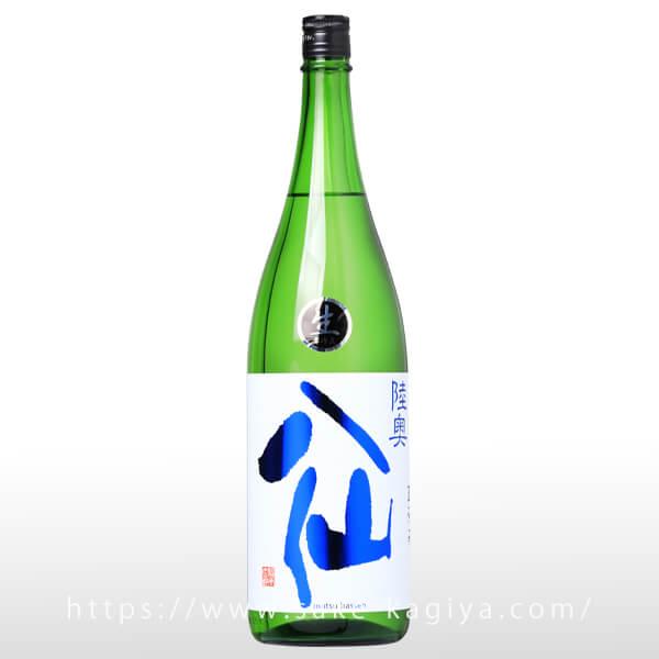 陸奥八仙 ヌーボ 特別純米生原酒 直汲 1.8L