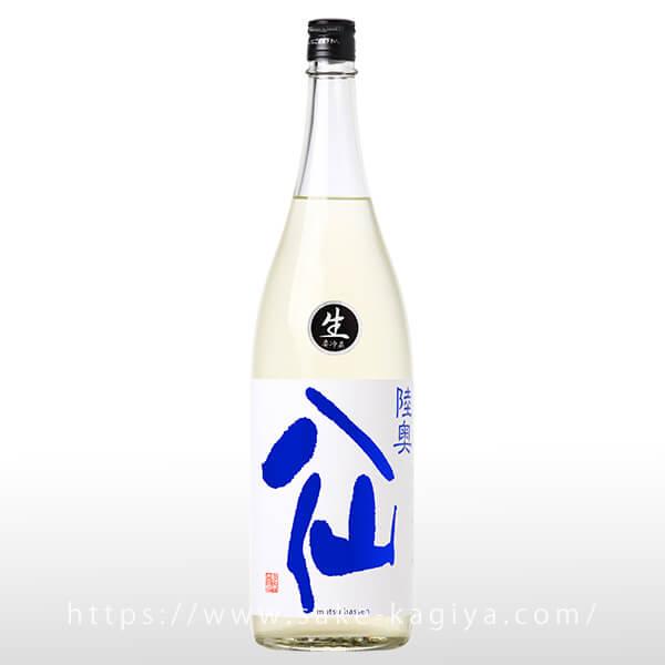 陸奥八仙 ヌーボ 特別純米生原酒 おりがらみ 1.8L