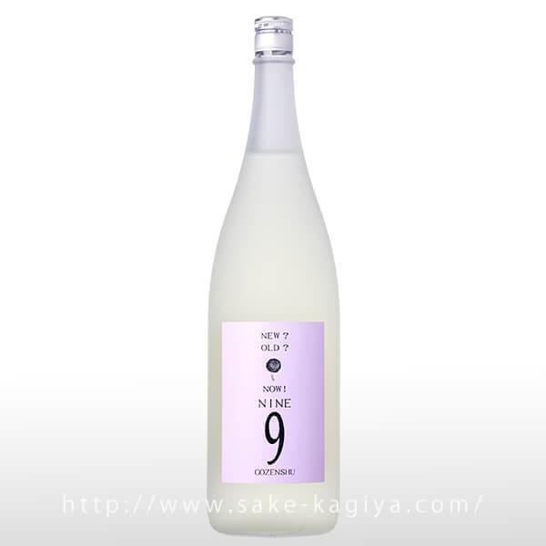 御前酒 9NINEしぼりたて ホワイトボトル 1.8L