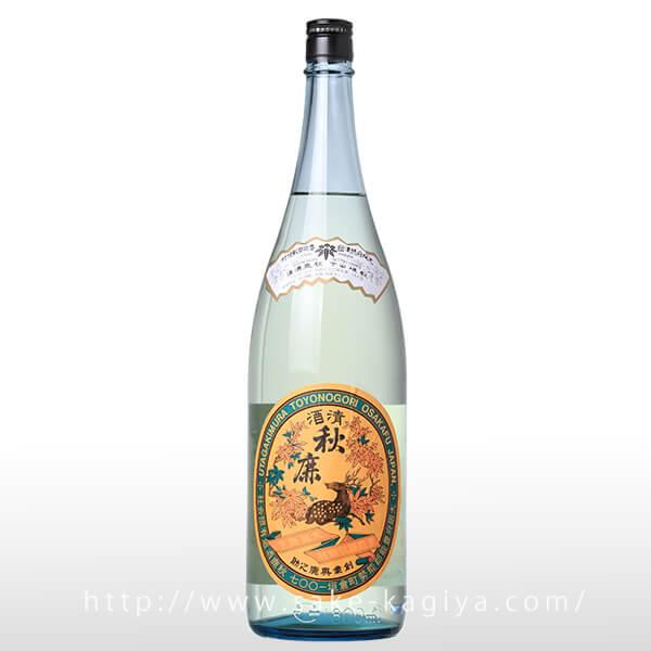 秋鹿 純米大吟醸 レトロラベル 1.8L