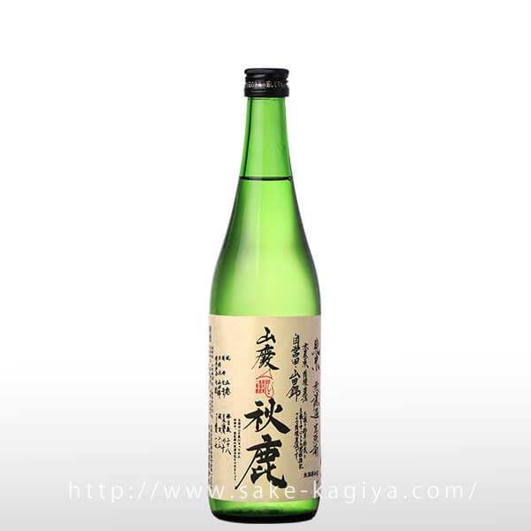 秋鹿 山廃純米 へのへのラベル 生720ml