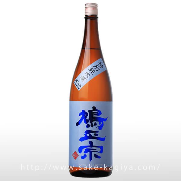 鳩正宗 特別純米酒 直汲み 1.8L