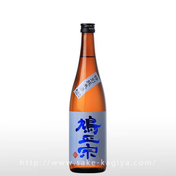 鳩正宗 特別純米酒 直汲み 720ml