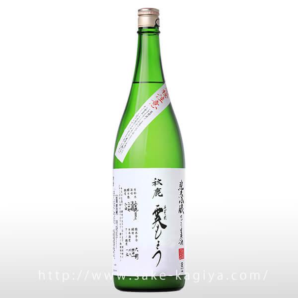秋鹿 純米吟醸 霙もよう 1.8L