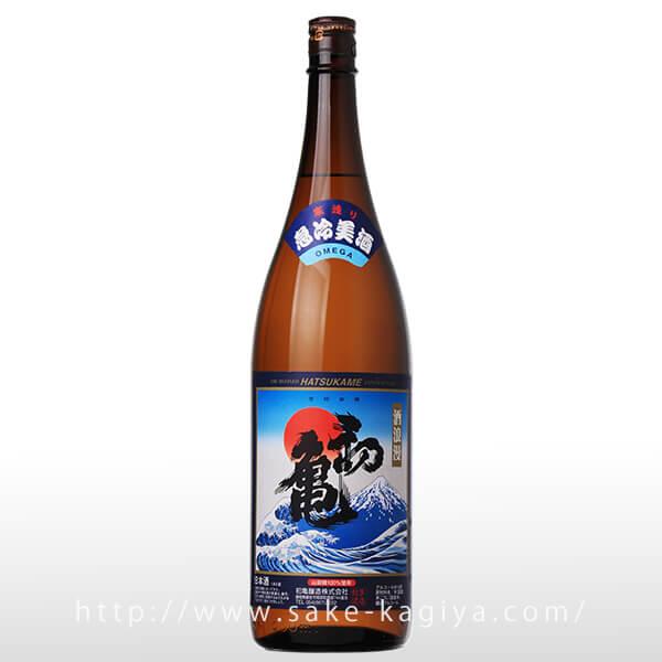 初亀 急冷美酒 普通酒 1.8L