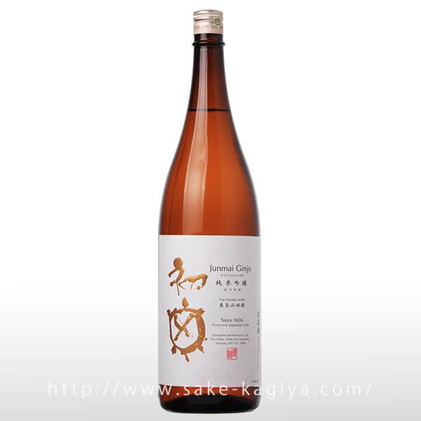 初亀 純米吟醸 1.8L