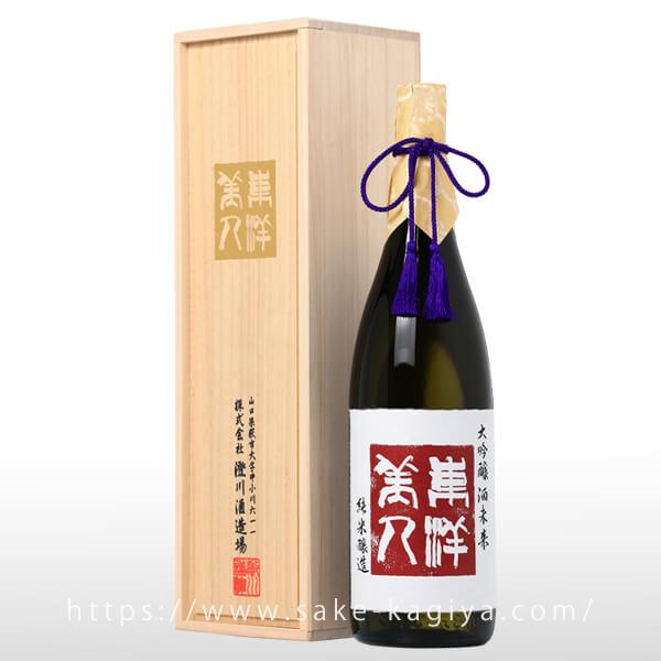 東洋美人 純米大吟醸 IPPO 一歩 酒未来 火入 1.8L