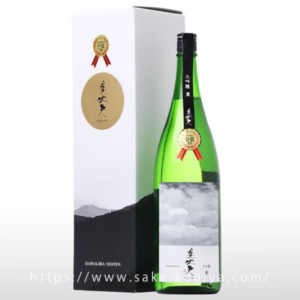 美丈夫 大吟醸 薫 (金賞受賞酒) 1.8L