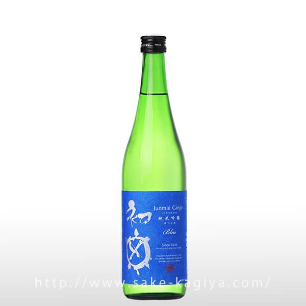 初亀 純米吟醸 Blue 720ml