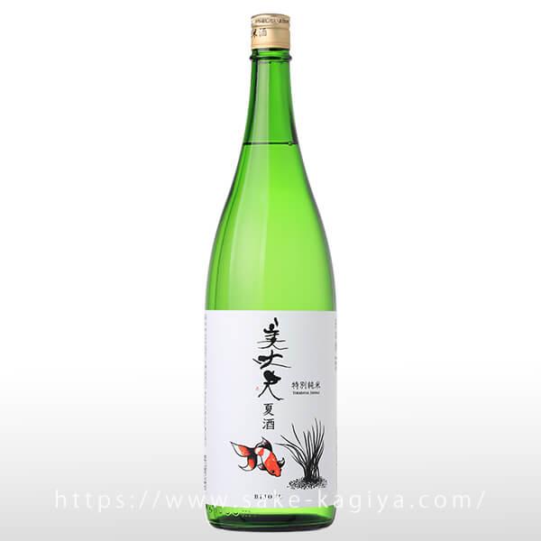 美丈夫 特別純米酒 夏酒 1.8L