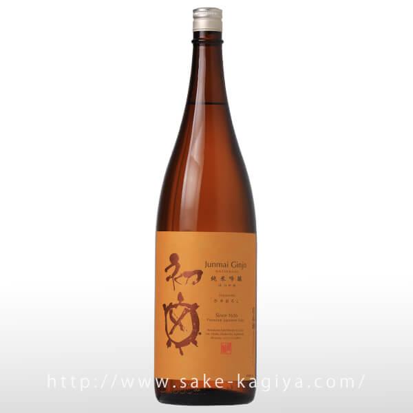 初亀 純米吟醸 ひやおろし 1.8L