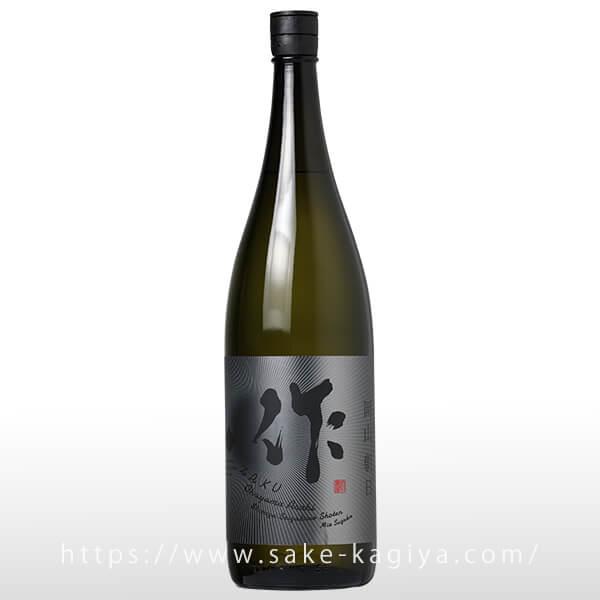 作 純米大吟醸 朝日 1.8L