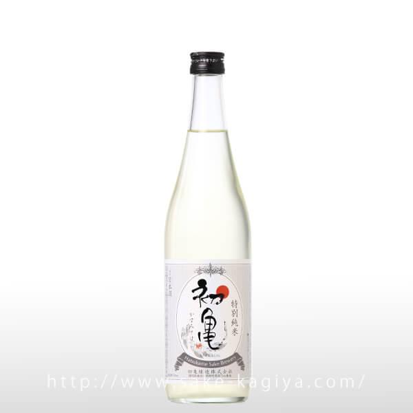 初亀 特別純米 かすみさけ 生酒 720ml