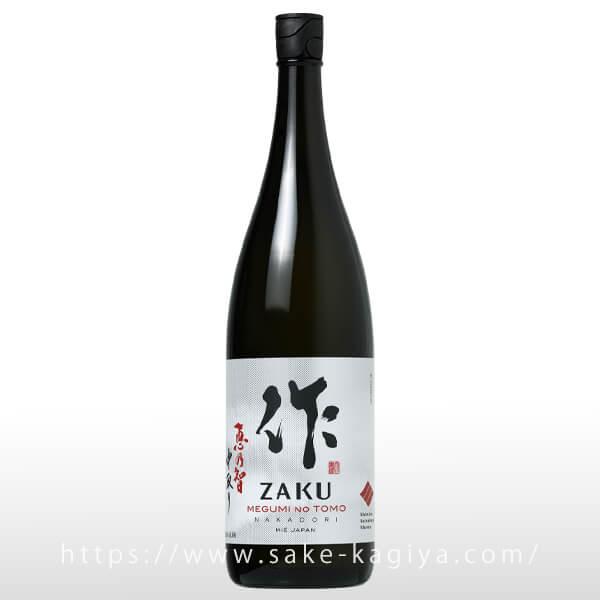 作 恵乃智 純米吟醸 中取り 1.8L