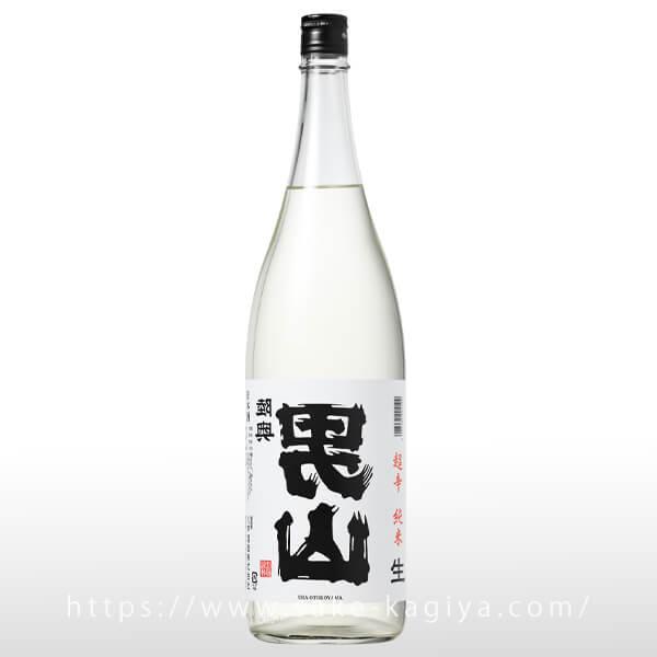 陸奥男山 裏男山 超辛純米 生原酒 1.8L