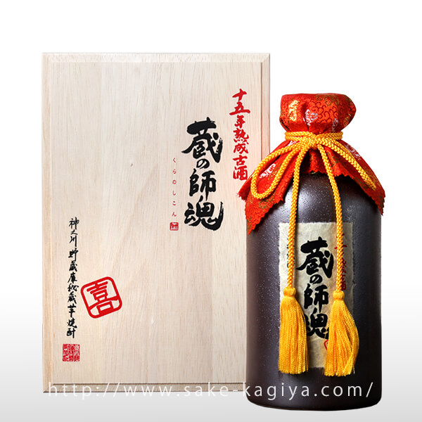 蔵の師魂 喜 15年貯蔵 720ml