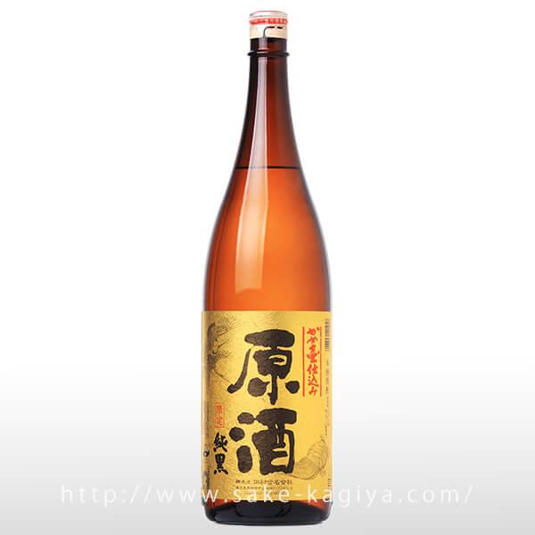 純黒 かめ仕込み 原酒 1.8L