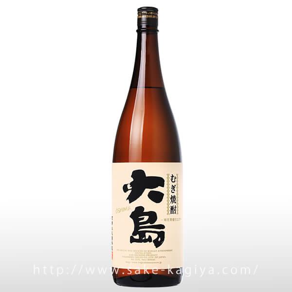 大島 麦焼酎 1.8L