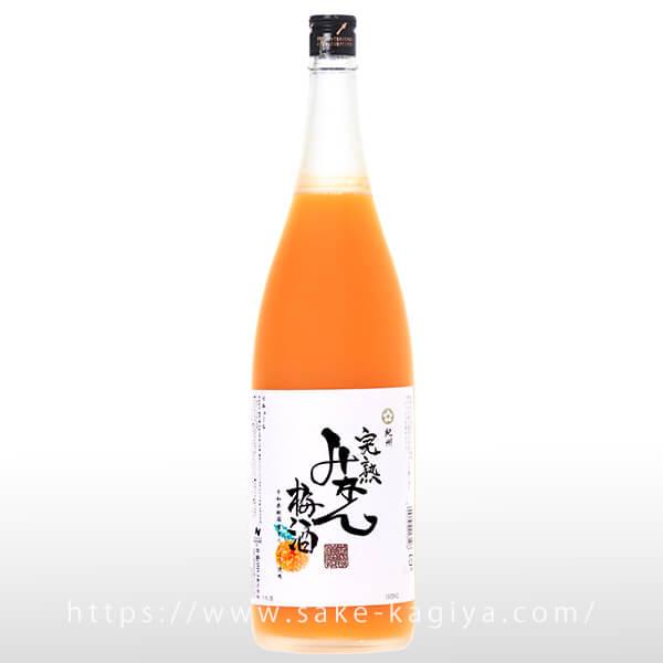 紀州 完熟みかん梅酒 1.8L