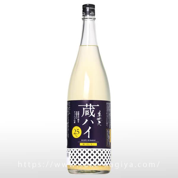 美丈夫 蔵ハイ 瀬戸内レモン 1.8L