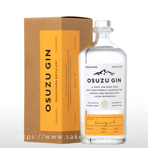 OSUZU GIN Kumquat(金柑)700ml