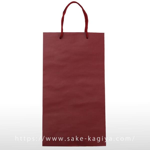 紙袋 Mサイズ ワインレッド