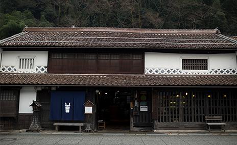 辻本店の酒蔵