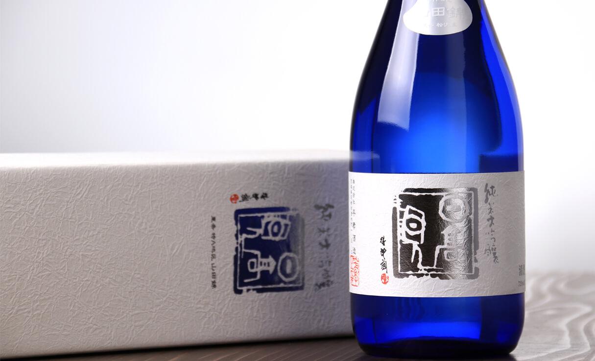日高見 純米大吟醸 ブルーボトル